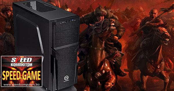 Мощен компютър за игри SPEED GAME PRO II i7 6700 R5.0 на ПРОМО ЦЕНА + 3 геймърски ПОДАРЪКА!