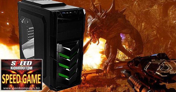 Геймърски компютър SPEED GAME DOMINATOR GTX special R5.0 + 3 геймърски ПОДАРЪКА