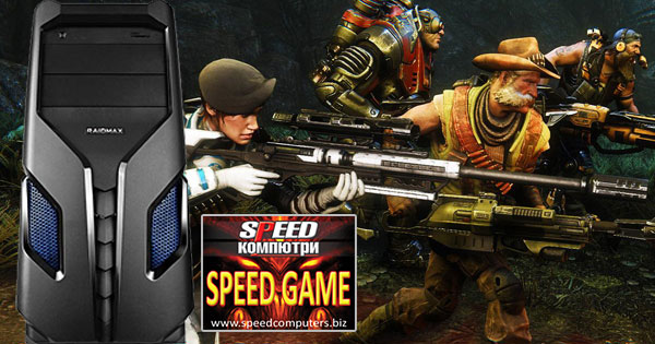 Компютър SPEED GAME IV за игри на ПРОМО ЦЕНА от Спийд Компютри