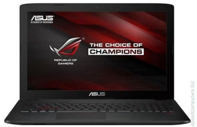 Лаптоп ASUS GL552VW-CN211D i7-6700HQ GTX 960M 240GB SSD