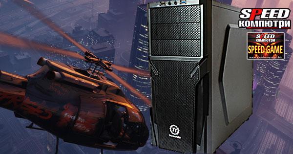 SPEED GAME Intel 6100 RX компютър за игри
