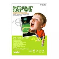 Хартия INTEC Coated Paper, 100sh, A4, 105 g/m2