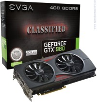 Видеокарта EVGA GeForce GTX980 4GB Classified ACX 2.0 256bit 04G-P4-3988-KR