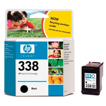 HP No. 338 Black Inkjet Print Cartridge (11ml) За HP PSC 2355/ PSC 1510, HP Photosmart 2610/2710 и HP Officejet 7310/7410Цвят : ЧеренC8765EE
