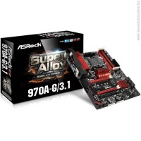 AsRock 970A-G AM3+ ATX USB 3.1 Type-C Дънна платка
