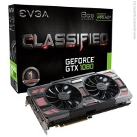 EVGA GeForce GTX 1080 CLASSIFIED GAMING ACX 3.0 OC 8GB GDDR5X видео карта