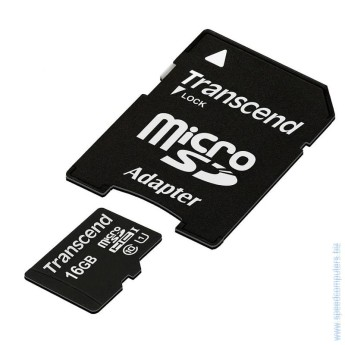 Карта памет Transcend 16GB microSDHC UHS-I Premium Adapter Class 10 