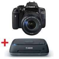 Canon EOS 750D + EF-s 18-135mm IS STM Огледално-рефлексен фотоапарат + Connect Station CS100