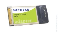 NETGEAR GA511 Gigabit PC Card 1 x RJ45 PCMCIA