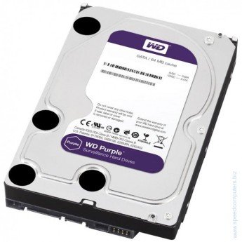Твърд диск Western Digital 2TB SATA III Purple 64MB 7200rpm Твърд диск Western Digital 2TB SATA III Purple 64MB 7200rpm