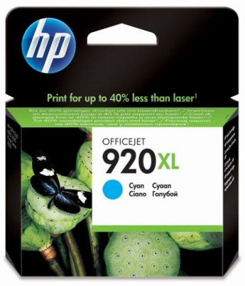 HP 920XL Cyan Officejet Ink Cartridge HP Officejet 6500 Printer series