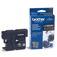 Brother LC-980BK Ink Cartridge for DCP-145/165/195/375, MFC-250/290 series
