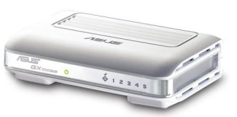 ASUS GX1005B Desktop Unmanaged Switch for Home/SOHO • Port Attributes: 5 RJ-45 for 10/100Mbps Ethernet ports• Data Connection:Transfer rate:Ethernet: 10Mbps (Half-duplex)Ethernet: 20Mbps (Full-duplex)Fast Ethernet: 100Mbps (Half-duplex)Fast Ethernet: 200Mbps (Full-duplex)Transmission Method: Store-and-forward• Standard Compliance:IEEE 802.3 (10Base-T)IEEE 802.3u (100Base-TX)IEEE 802.3x Flow ControlIEEE 802.3p QoS Prioritization