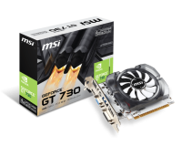 MSI GeForce GT 730 4GB DDR3 Видео карта