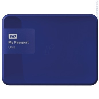 Твърд диск Western Digital 2TB USB 3.0 MyPassport Ultra Noble син Твърд диск Western Digital 2TB USB 3.0 MyPassport Ultra Noble син