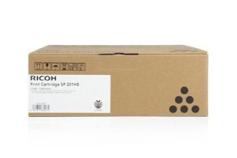 Тонер касета Ricoh SP201HE, Черен,2600 стр Compatible with:   Ricoh SP211/ SP213W/ SP211SU/ SP211SF/ SP213UW/ SP213SFW/ SP213SFNW/SP220NW/SP220SNW/SP220SFNW Page yield:   2600 pages Color: Black
