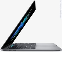 "Apple MacBook Pro i7-7500U 15.4""Retina Radeon Pro450 256GB SSD Touch Bar Silver BG лаптоп сив"