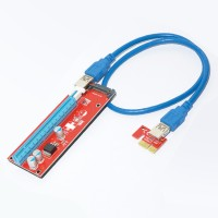 Mining Riser PCI Express 1x to 16x адаптер v.7 USB- 60cm