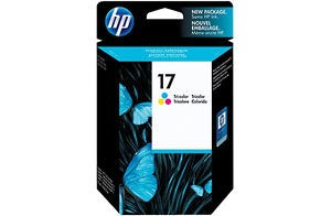 HP 17 Tri-colour Inkjet Print Cartridge Съвместимост: HP DeskJet 840C, 842C, and 843C PrintersЦвят: Yellow, Cyan, MagentaБрой страници: 480 pages