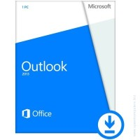 Microsoft® Outlook 2013 32/64 English PkLic Online DwnLd C2R NR