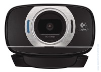 HD уеб камера Logitech HD Webcam C615