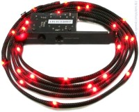 NZXT CB-LED20-RD Sleeved LED Kit - RED  2m