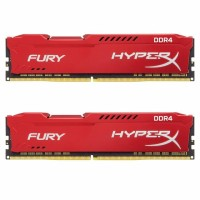 Kingston HyperX Fury Red 16GB DDR4 2666MHz памет