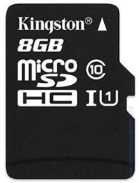 Карта памет KINGSTON microSDHC 8GB Class 10