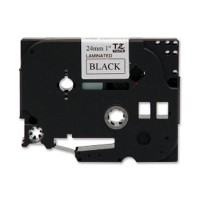 Brother TZ-251 Tape Black on White, Laminated, 24mm - Eco