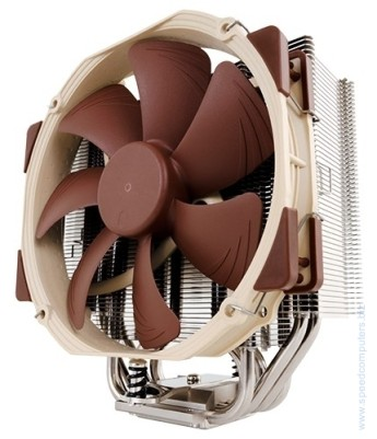 Вентилатор за процесор Noctua NH-U14S - 1155/1150/2011/AMD The NH-U14S is the 14cm top model of Noctua's classic U-series single tower CPU coolers, which have received more than 400 awards and recommendations from the international press. While the large, six heatpipe design and the NF-A15 140mm fan with PWM support for fully automatic speed control allow the cooler to best the renowned quiet cooling performance of all other U-series coolers, its 52mm slim shape still guarantees full compatibility with tall RAM modules on LGA2011. Topped off with the trusted, pro-grade SecuFirm2™ multi-socket mounting system, Noctua's proven NT-H1 thermal compound and full 6 years manufacturer's warranty, the NH-U14S is a complete premium quality solution that combines superb performance, high compatibility and quiet operation.