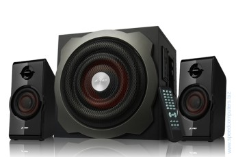 Тонколони 2.1 FENDA F&D A530U Radio/USB MP3/IR Remote - 52W RMS 