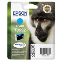Epson T0892 Cyan Ink Cartridge - Retail Pack C13T08924011