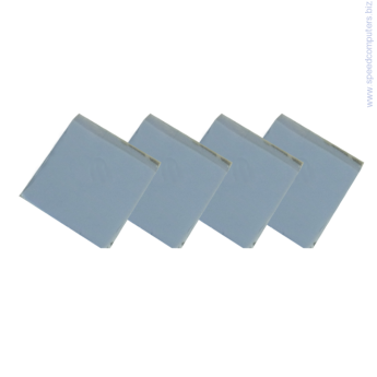 термо лепенка OEM Thermal Pad - 13 x 13 x 2.8 mm, 4 pcs термо лепенка OEM Термо пад Thermal Pad - 13 x 13 x 2.8 mm - 4 броя комплект