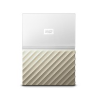 Външен твърд диск Western Digital 2TB USB 3.0 MyPassport Ultra Gold