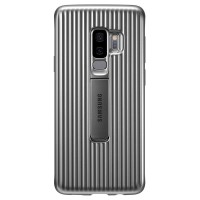 Samsung S9+ Protective Standing Cover калъф сребрист