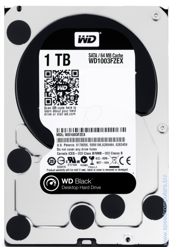 Твърд диск Western Digital 1TB SATA III Caviar Black 64MB 7200rpm Категория: DesktopКапацитет: 1TBИнтерфейс: SATA III