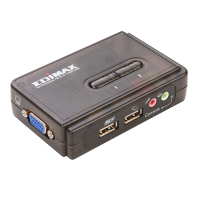 Edimax 350MHz High Bandwidth2 Ports USB KVM Switch
