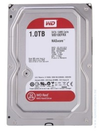 Western Digital Red 1TB 64MB cache SATA III твърд диск