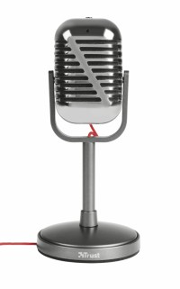 TRUST Elvii Vintage Microphone for PC and laptop микрофон