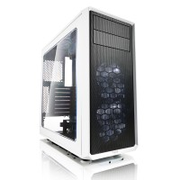 Fractal Design FOCUS G WHITE WINDOW ATX кутия за компютър