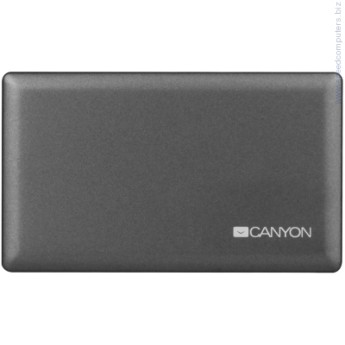 Четец за флаш карта CANYON CardReader All in one CNE-CARD2 CANYON CardReader All in one CNE-CARD2 (CF/micro SD/SD/SDHC/SDXC/MS/Xd/M2) USB 2.0, Gray