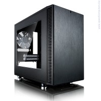 Кутия Fractal Design Define Nano S - Window ITX Black