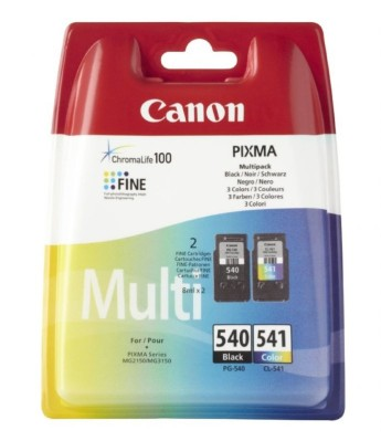 Canon PG-540 / CL-541 Multi pack Canon PIXMA MG2150, MG3150