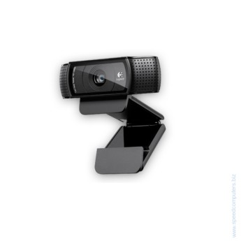 Уеб камера Logitech HD Pro Webam C920 • Full HD 1080p video calling (up to 1920 x 1080 pixels) with the latest version of Skype for Windows