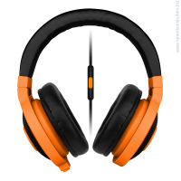 Слушалки RAZER Kraken Mobile neon Orange