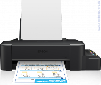 Мастилоструен принтер Epson InkJet printer L120 ITS Printer Скорост черно 8 Pages/min Monochrome