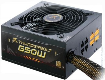 Захранване за компютър GEIL Thortech Thunderbolt 650W Gold Active PFC 