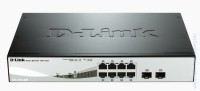 D-Link DGS-1210-08P 8-port 10/100/1000 Gigabit PoE Smart Switch