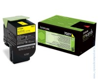 Консуматив Lexmark 702Y Yellow Return Program Toner Cartridge