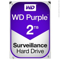 WD PURPLE 2TB 5400 rpm 3.5 inch SATA3 Твърд диск